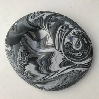 ADA Pebble Series Marbled Double-Sided Platter