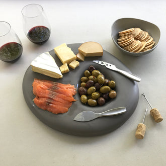 ADA Pebble Series Double-Sided Platter