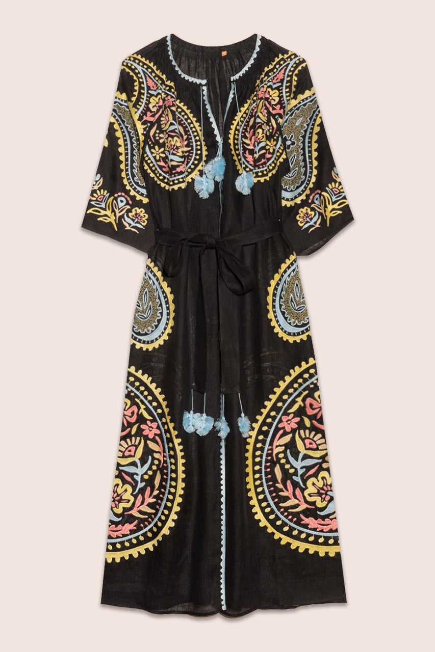 Ece Maxi Dress in Black