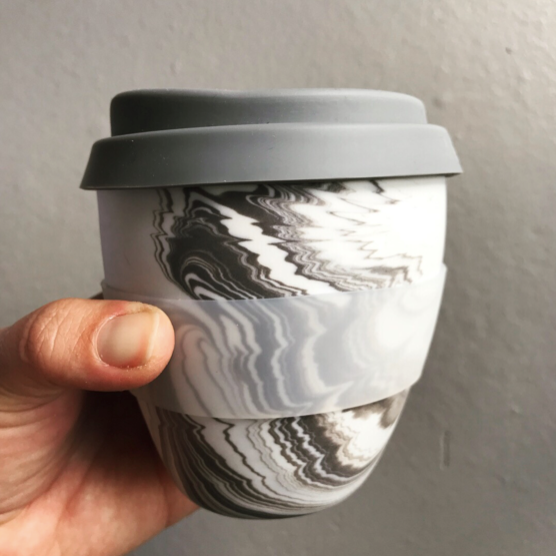 ADA Pebble Series Marbled Takeaway Cup