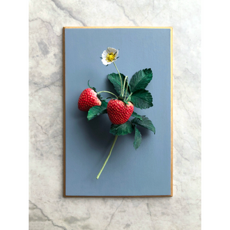 Strawberry with Blossom