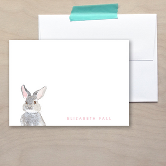 Kids Bunny Note Cards