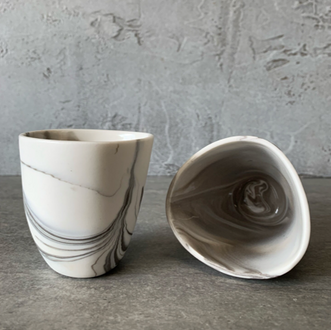 ADA Pebble Series Marbled Espresso Cup