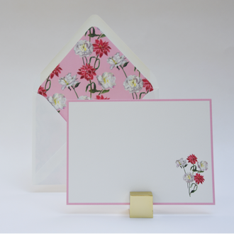 Pink Bouquet Boxed Notes