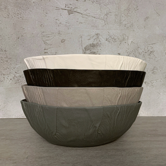 Tabak 'Leather Series' Salad Bowl