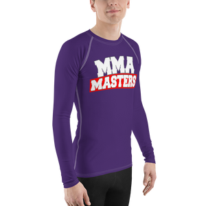 MMA MASTERS Purple Belt Men's Rash Guard