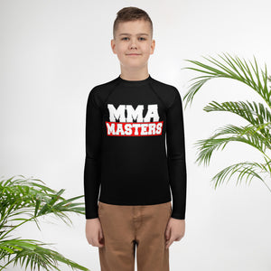 MMA MASTERS Youth Rash Guard
