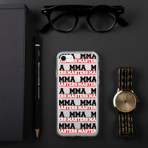 MMA MASTERS iPhone Case