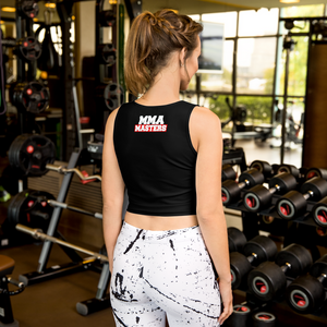 MMA MASTERS Sublimation Cut & Sew Crop Top