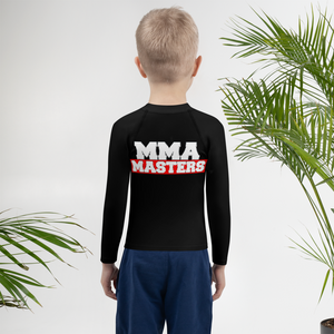 MMA MASTERS Kids Rash Guard