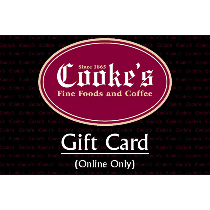 Gift Card (Online Purchases)