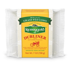 A 198g prepackage of Dubliner from Kerrygold.