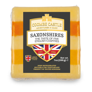 A 200g prepackage of Saxonshires (5-Counties) from Coombe Castle.
