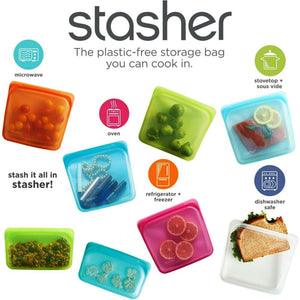 Stasher Silicone Food Storage Bag Collection