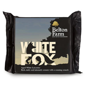 A 200g prepackage of White Fox from Belton Farm.