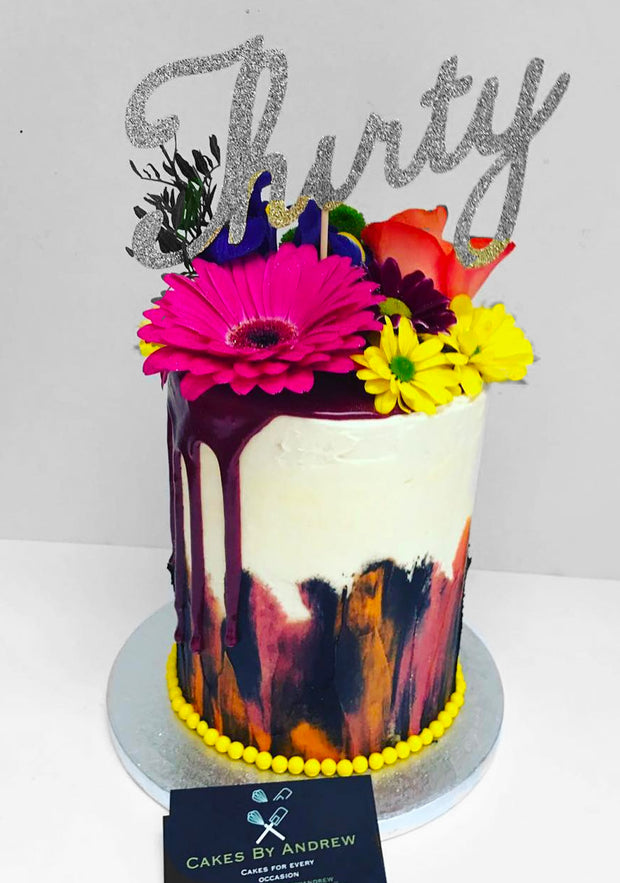 "This is a 5"", Tall style cake"