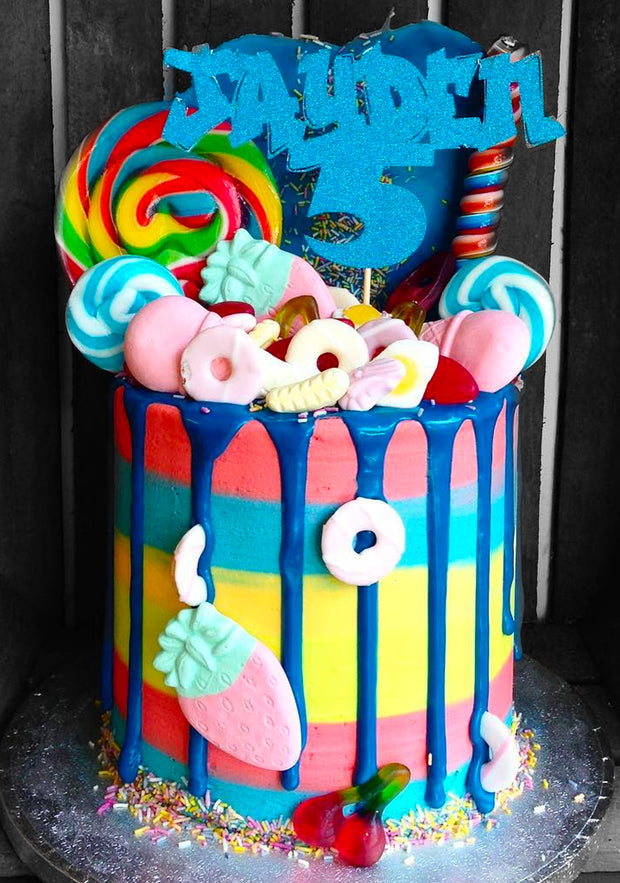 "This is a 6"", Tall style cake"