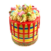 "This is a 6"", tall style cake, All cakes may have slight variations in colour or decoration due to being handmade to order"
