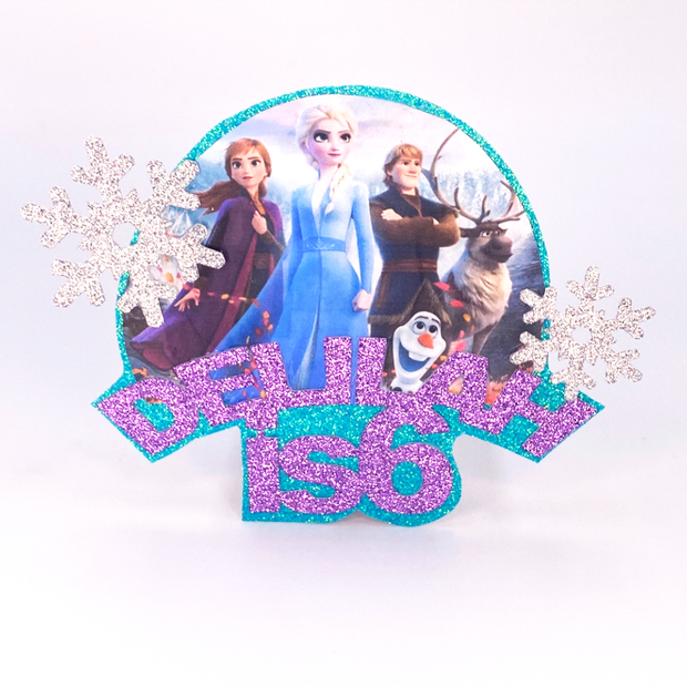 Ice Queen Cake Topper
