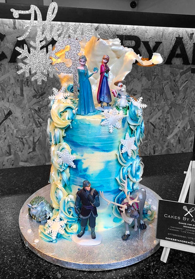 "This is a 5"", Tall style cake (serves approx 25)"