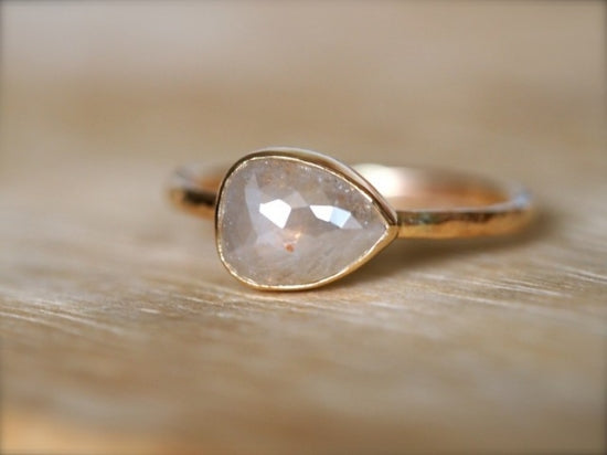 Sand Beige Diamond Ring