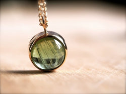 Cat's Eye Pendant Round Cat's Eye Chrysoberyl