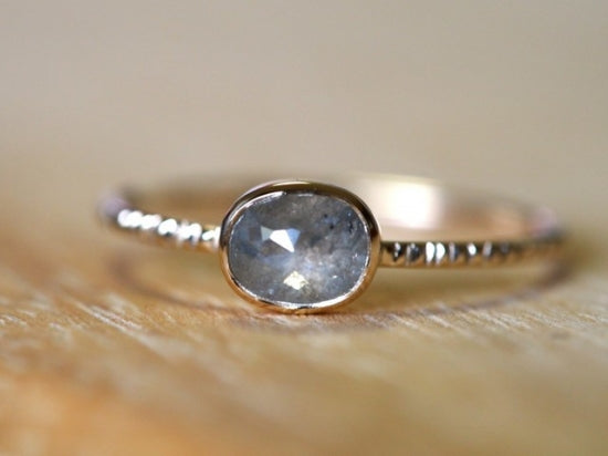 Frozen Drop Diamond Ring
