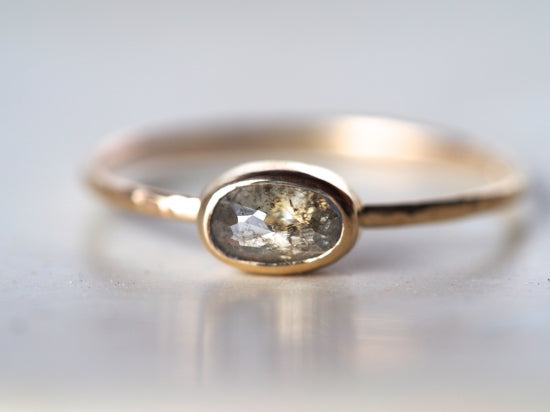 A touch of frost Diamond Ring