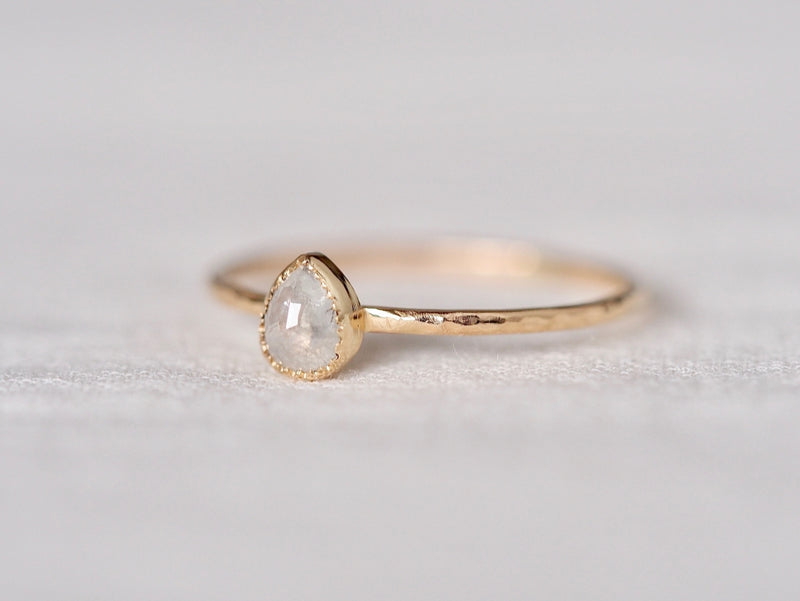 Ice Drop Diamond Ring