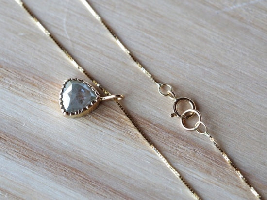 Watershadow Diamond Necklace