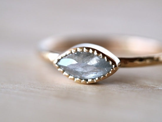 Silver Sky Diamond Ring