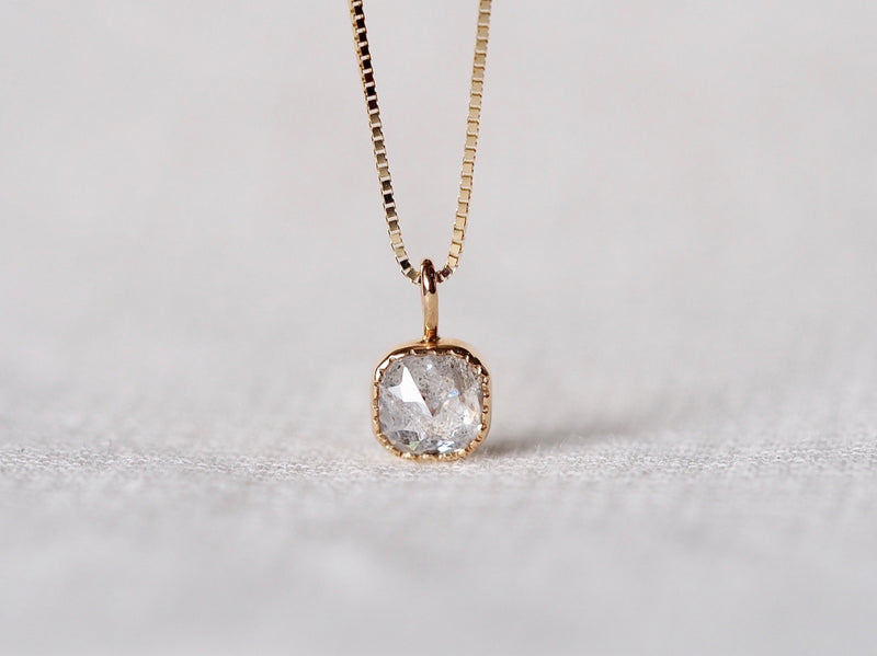 Salt & Papper Diamond Necklace