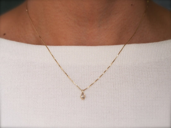 Baby Dew Diamond Necklace