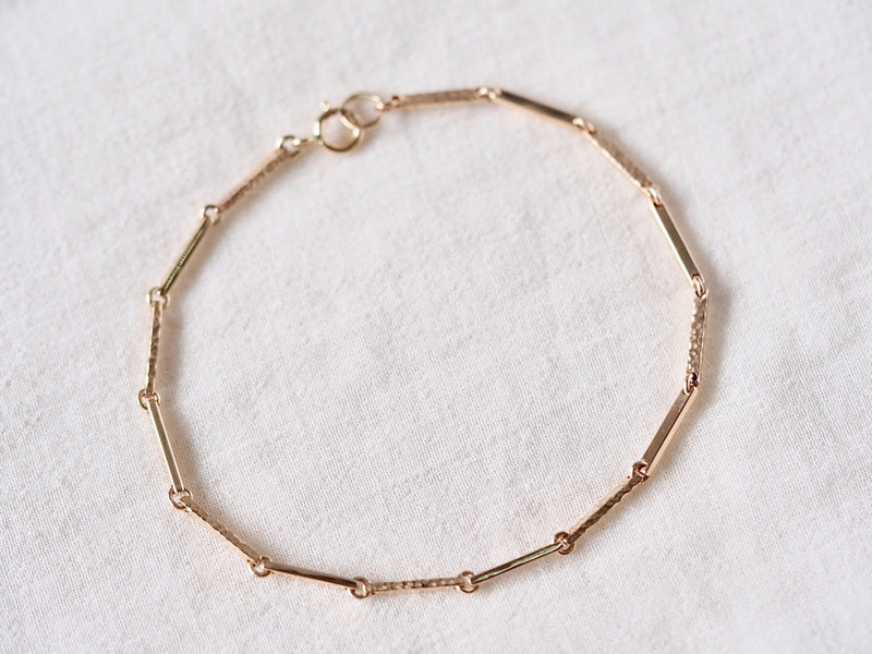 Repeated Bar Bracelet