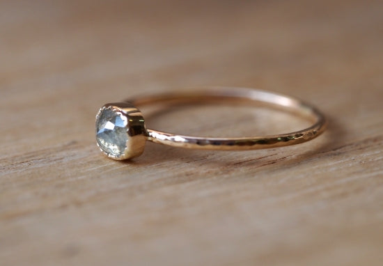 Serene Breeze Diamond Ring