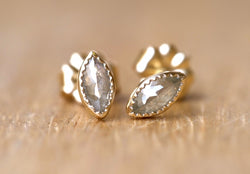 Marquise Diamond ピアス