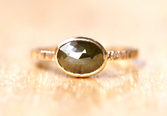 Hidden Forest Diamond Ring