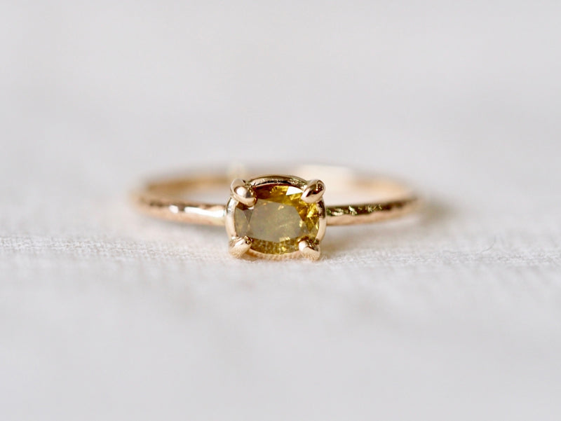Khaki Diamond Ring