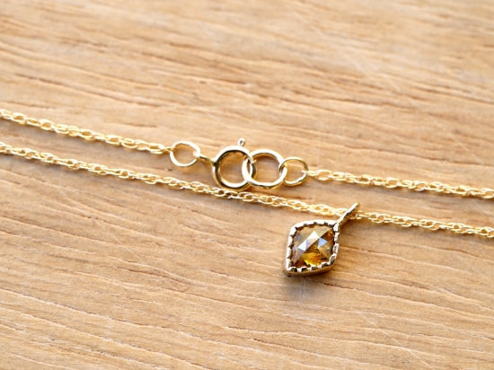 Twilight Yellow Diamond Necklace