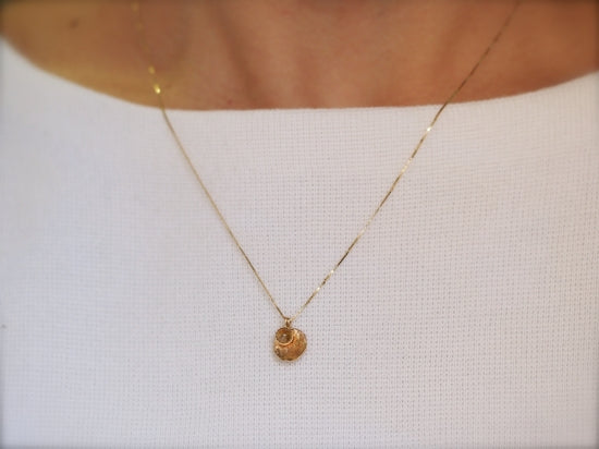Layered Luna Necklace Honey