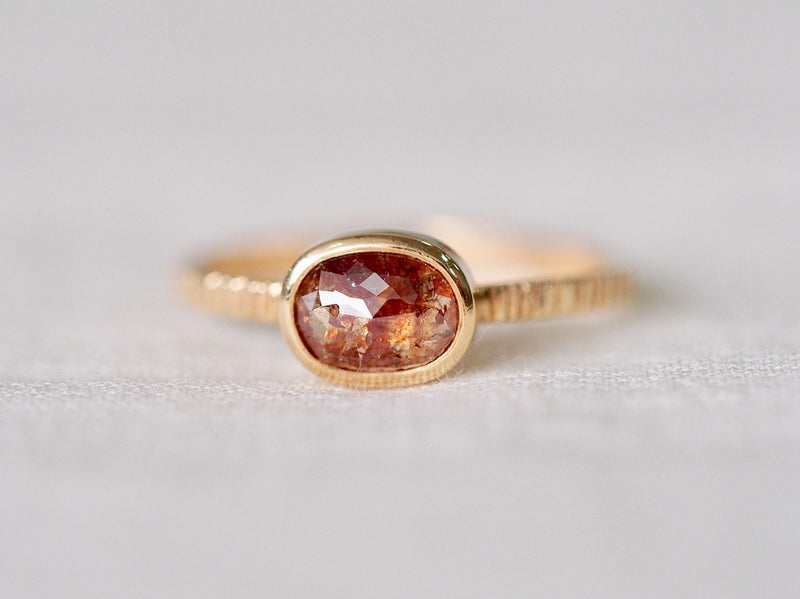 Beauty In Red Diamond Ring