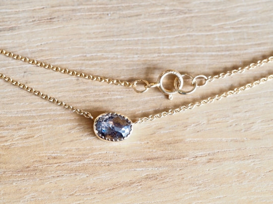 Black Shadow Diamond Necklace