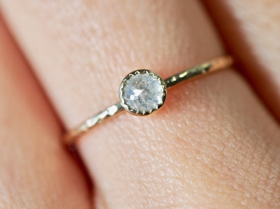 Acacia Drop Diamond Ring