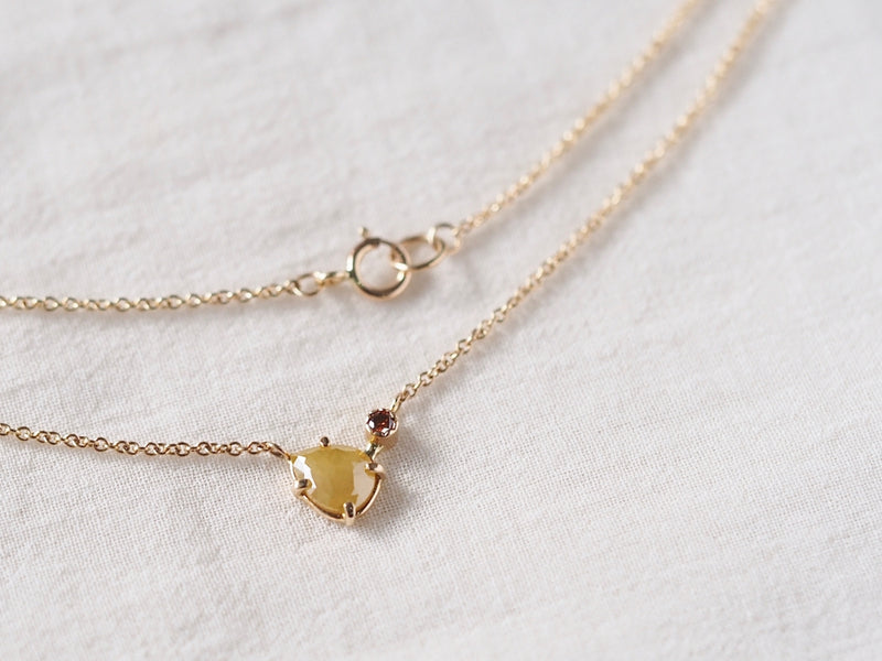Marigold Drop Diamond necklace