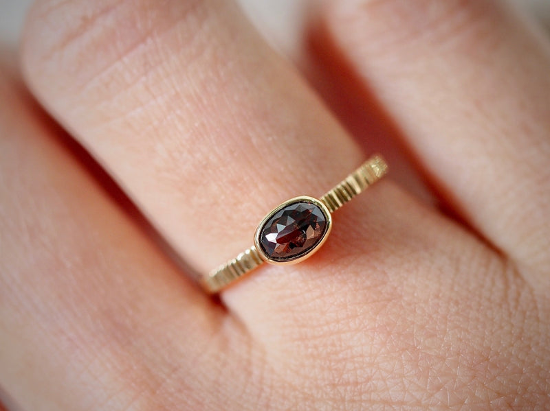 Chocolate Brown Diamond Ring