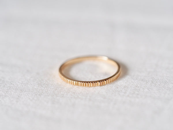 Milled Square Ring