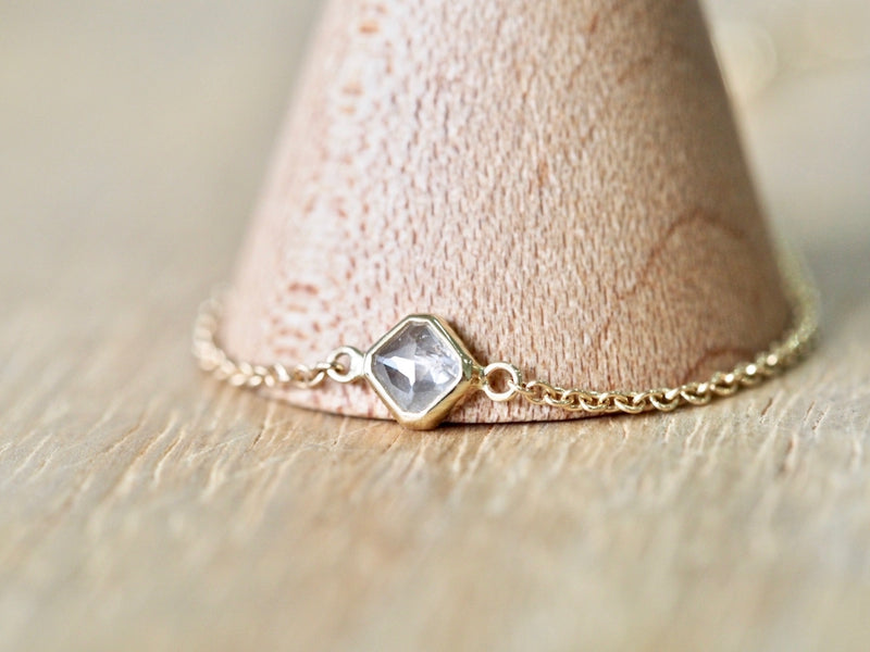 Rock Candy Square Diamond Bracelet