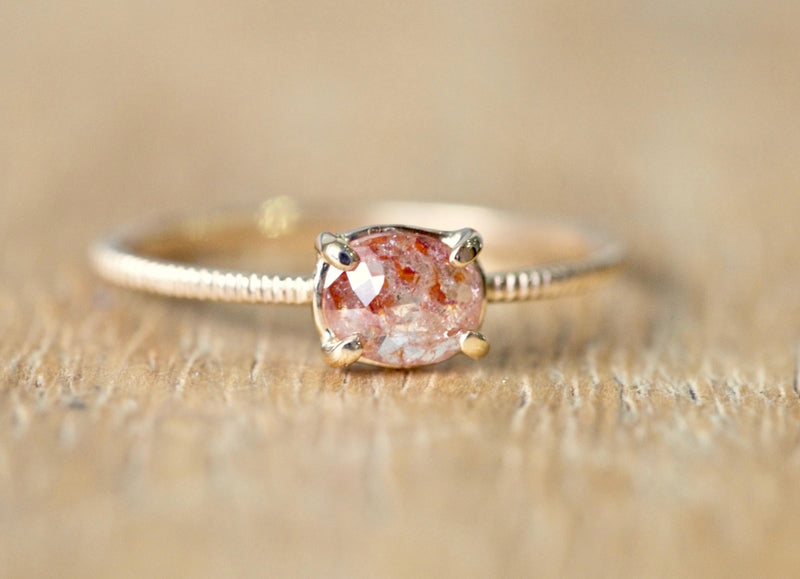 Wild Berry Diamond Ring