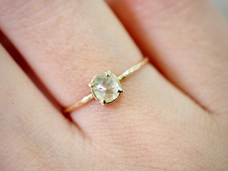 Water Lily Diamond Ring