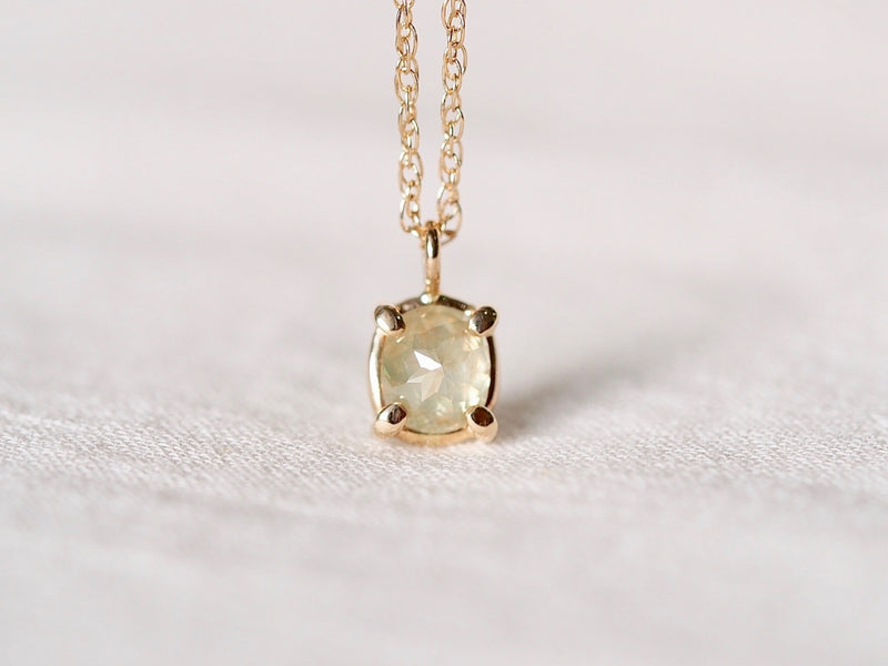 Water Lily Diamond Necklace